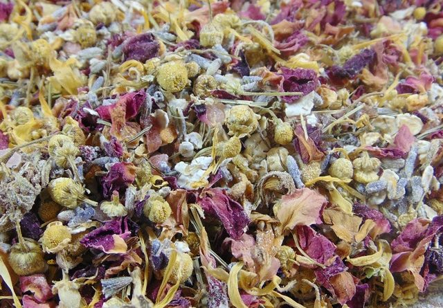bath tea mix